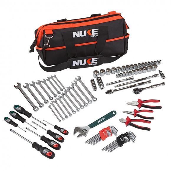 85 PIECE 3/8″ DRIVE METRIC & IMPERIAL TOOL KIT