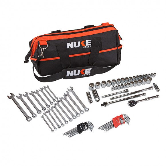 74 PIECE 3/8″ DRIVE METRIC & IMPERIAL TOOL KIT