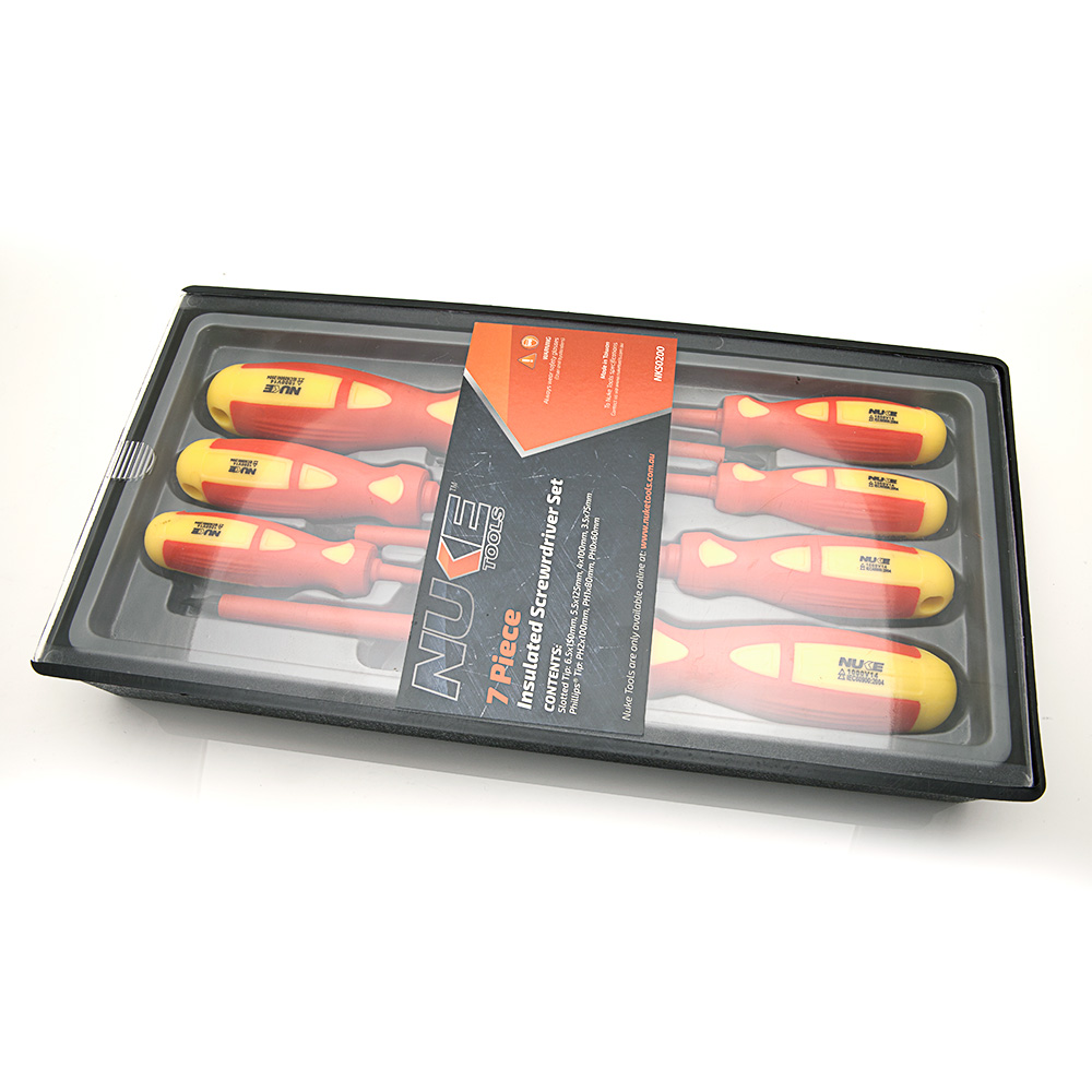 7 Piece Insulated Screwrdriver Set